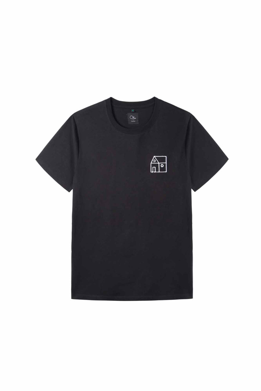 RAA x OL Crew Neck T-shirt in Black