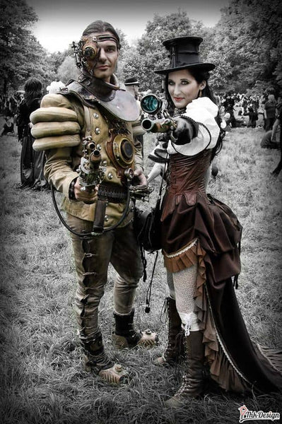 Costume steampunk homme/ femme - univers Steampunk