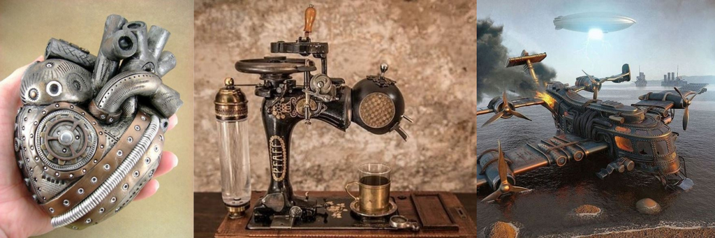INVENTIONS STEAMPUNK - univers steampunk