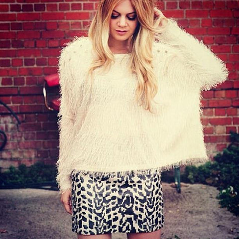 Critters Sequin Mini Skirt