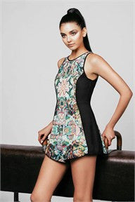 Rebel Heart Playsuit - MOSS Clothing