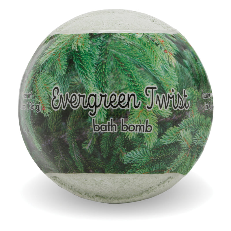 Bath Bomb - EVERGREEN TWIST