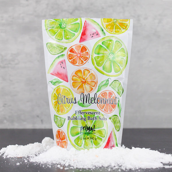 Bubbling Bath Salt - CITRUS MELONMINT