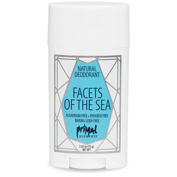 All Natural Deodorant - FACETS OF THE SEA