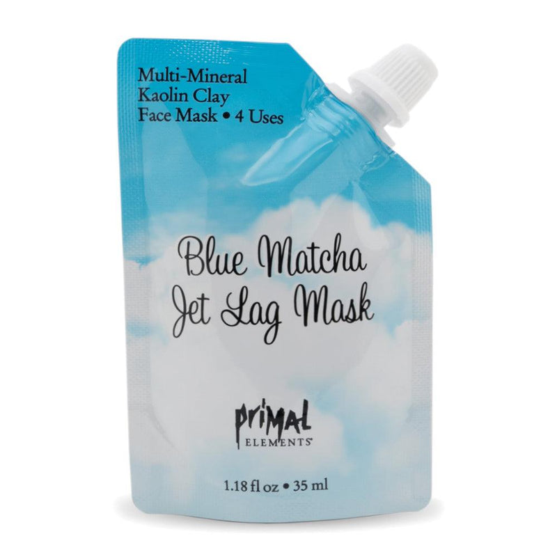 Face Mask - BLUE MATCHA JET LAG MASK
