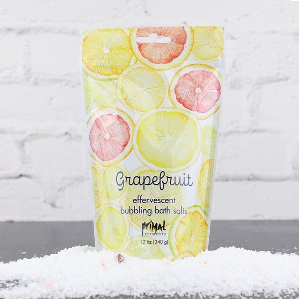 Bubbling Bath Salt - GRAPEFRUIT