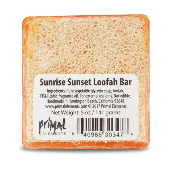 LoofahBar Soap 5.0 oz. - SUNRISE SUNSET