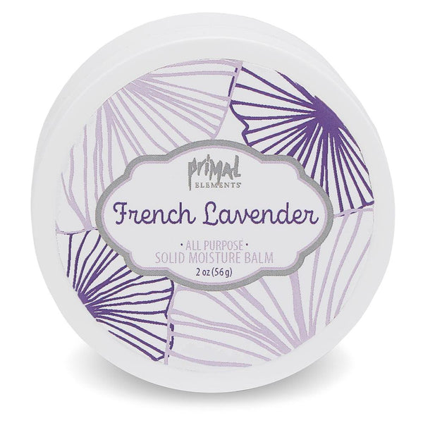 All Natural Solid Moisture Balm - FRENCH LAVENDER