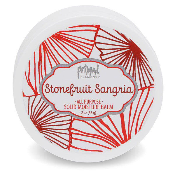 All Natural Solid Moisture Balm - STONEFRUIT SANGRIA