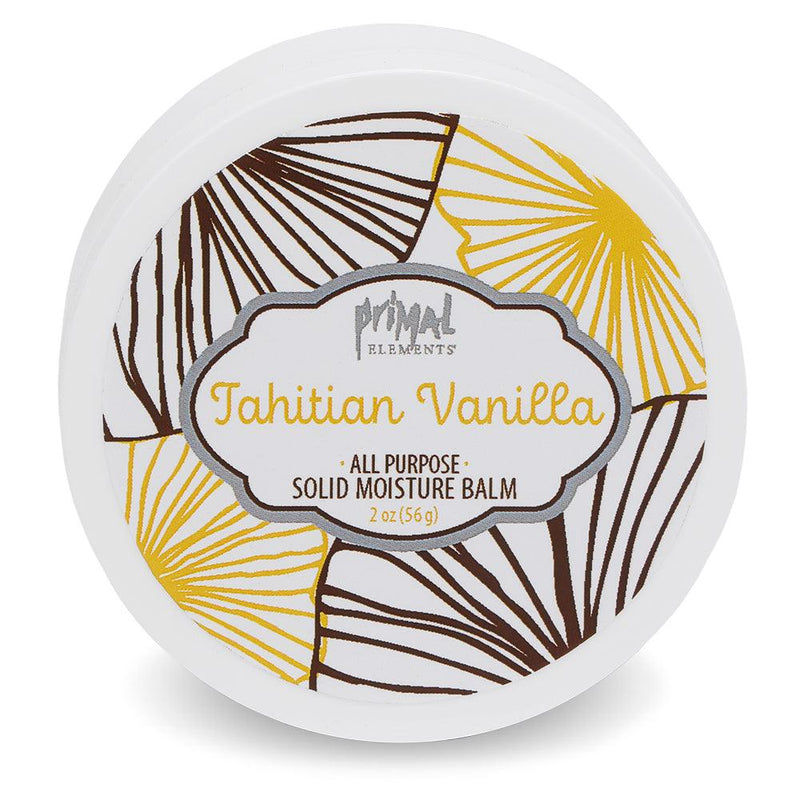 All Natural Solid Moisture Balm - TAHITIAN VANILLA