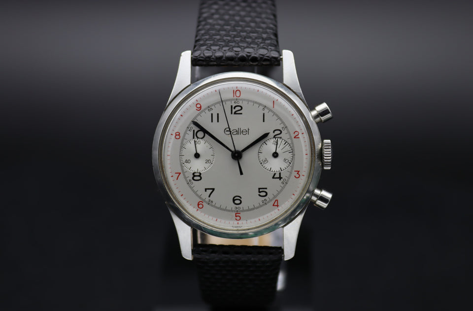 GALLET | VINTAGE CHRONOGRAPH | SILVER EYES