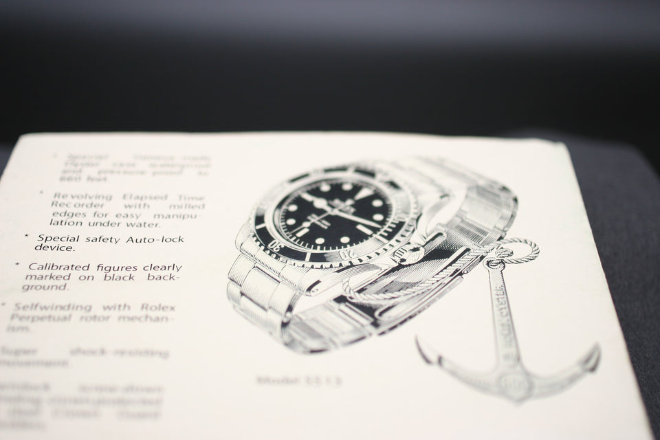 ROLEX | VINTAGE SUBMARINER DATE MARK V 1680