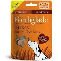 FORTHGLADE SOFT BITES, TURKEY, 90g