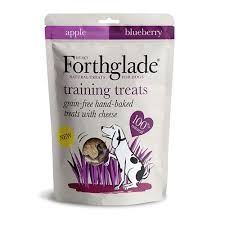 FORTHGLADE NATURAL TRAINING TREATS, APPLE & BLUEBERRY