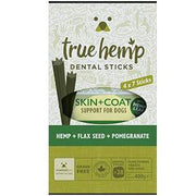 TRUE HEMP SKIN & COAT DENTAL STICKS BOX , 4 X 7 STICKS