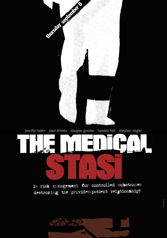 The Medical Stasi: Is Risk Management for Controlled Substances Destroying the Provider-Patient Relationship?