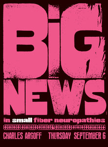 Big News in Small Fiber Neuropathies