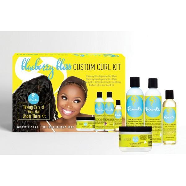 Curls Blueberry Bliss Custom Curl Taking Care Of Your Hair Under There Kit