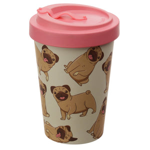 Bambootique Reusable Screw Top Travel Mug-biglittletrading.co.uk