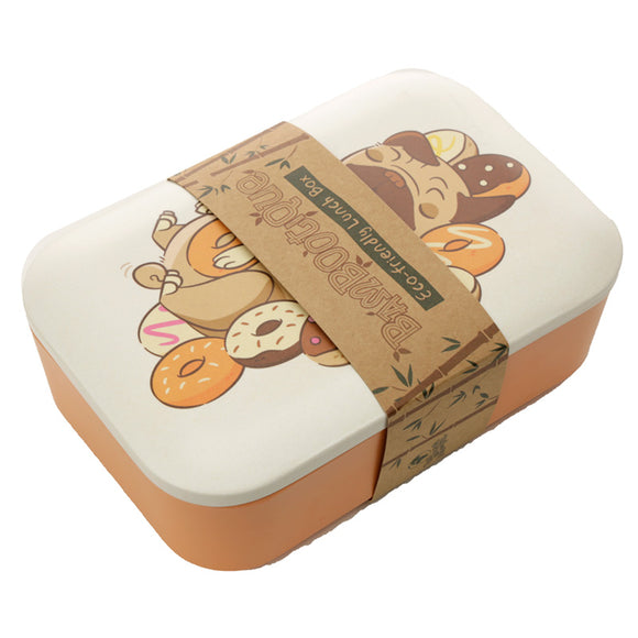 Bambootique Mopps Pug Lunch Box-biglittlebamboo.co.uk