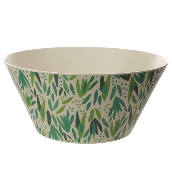 Bambootique Willow Salad Bowl-biglittlebamboo.co.uk