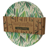 Bambootique Willow Reusable Plate (Set of 4)-biglittlebamboo.co.uk