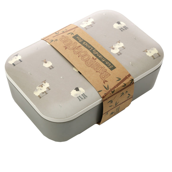 Bambootique Willow Farm Sheep Lunch Box-biglittlebamboo.co.uk