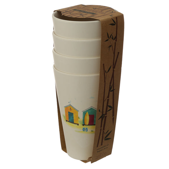 Bambootique Beach Hut Cup-biglittlebamboo.co.uk
