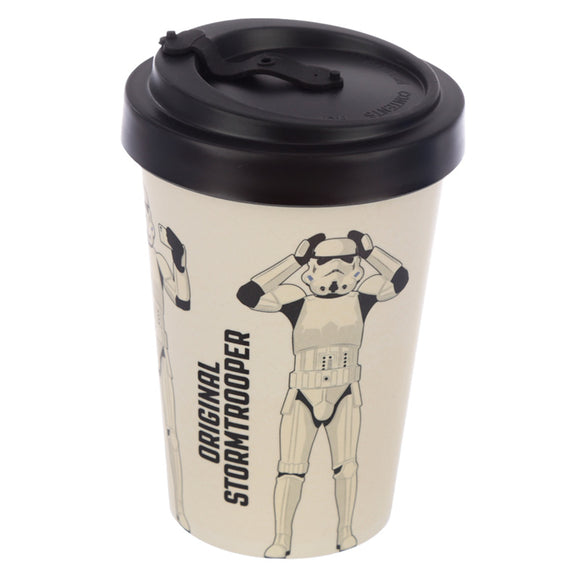 The Original Stormtrooper White Screw Top Travel Mug