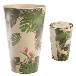 Bambootique Cheese Plant Cup-biglittletrading.-co.uk