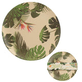 Bambootique Cheese Plant Plate-biglittletrading.co.uk