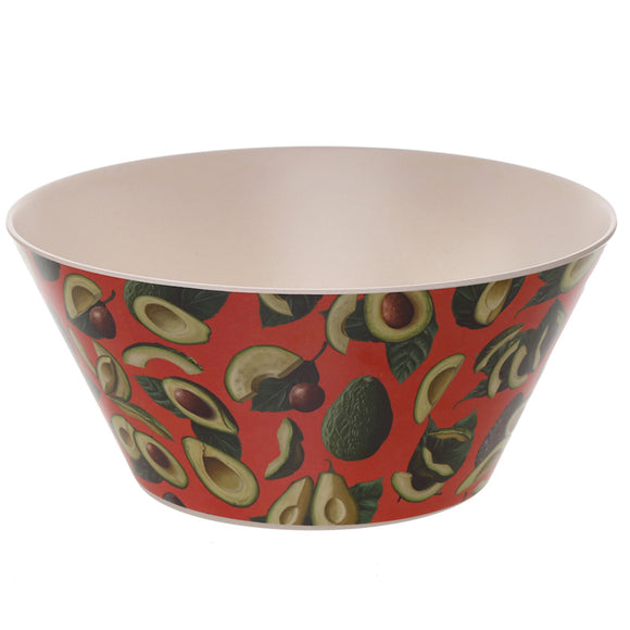 Bambootique Avocado Salad Bowl-biglittlebamboo.co.uk