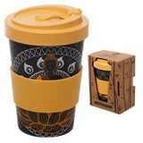 Bambootique Thai Buddha Screw Top Travel Mug-biglittlebamboo.co.uk