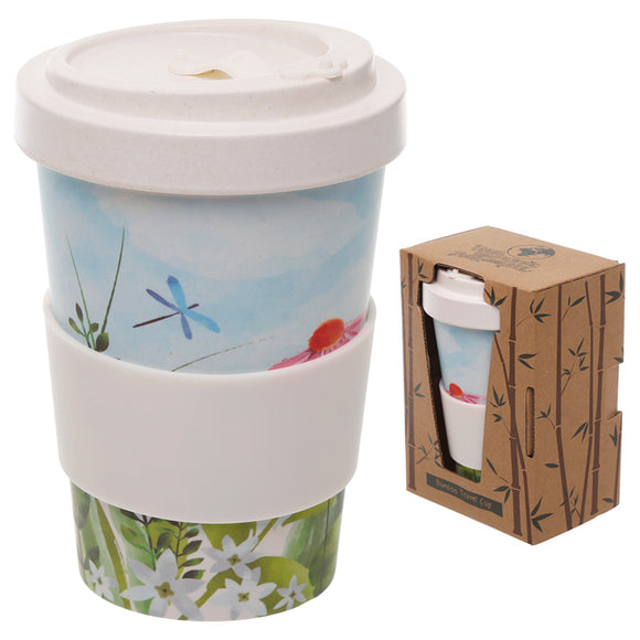 Bambootique Screw Top Travel Mug-biglittlebamboo.co.uk