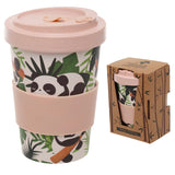 Bambootique Pandarama Screw Top Travel Mug-biglittlebamboo.co.uk
