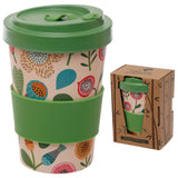 Bambootique Floral Top Screw Mug-biglittletrading.co.uk