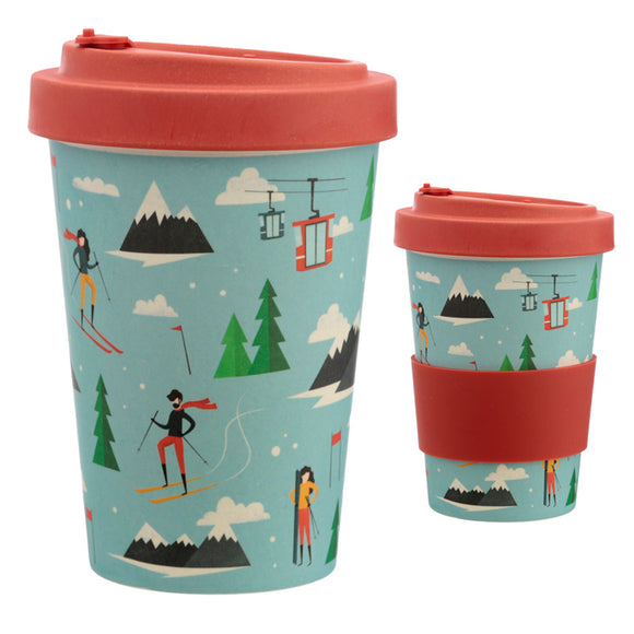 Bambootique Peak Season Top Travel Mug-biglittlebamboo.co.uk