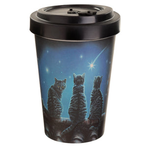 Bambootique Cat Travel Mug-biglittlebamboo.co.uk