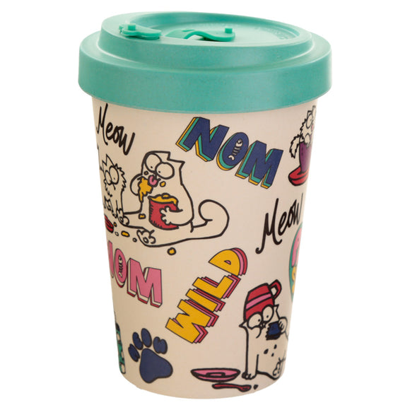 Reusable Bambootique Travel Mug-biglittlebamboo.co.uk