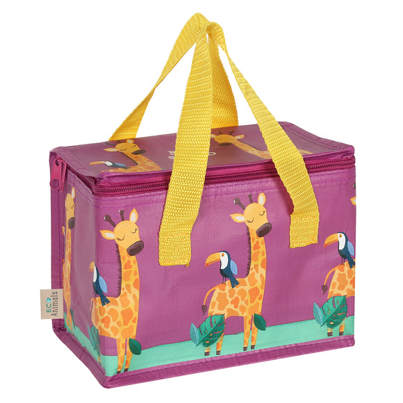 Gordon Giraffe Lunch Bag-biglittlebamboo.co.uk