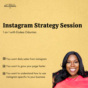 Instagram Strategy Session