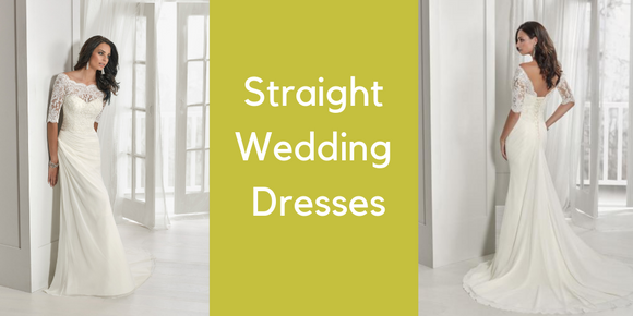 straight wedding dresses plymouth
