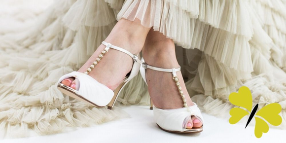 Bridal Shoes in Plymouth- Amica Bridal Boutique