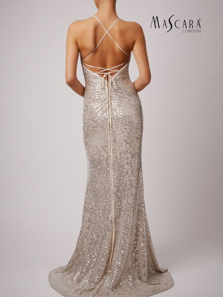 metallic prom dress plymouth