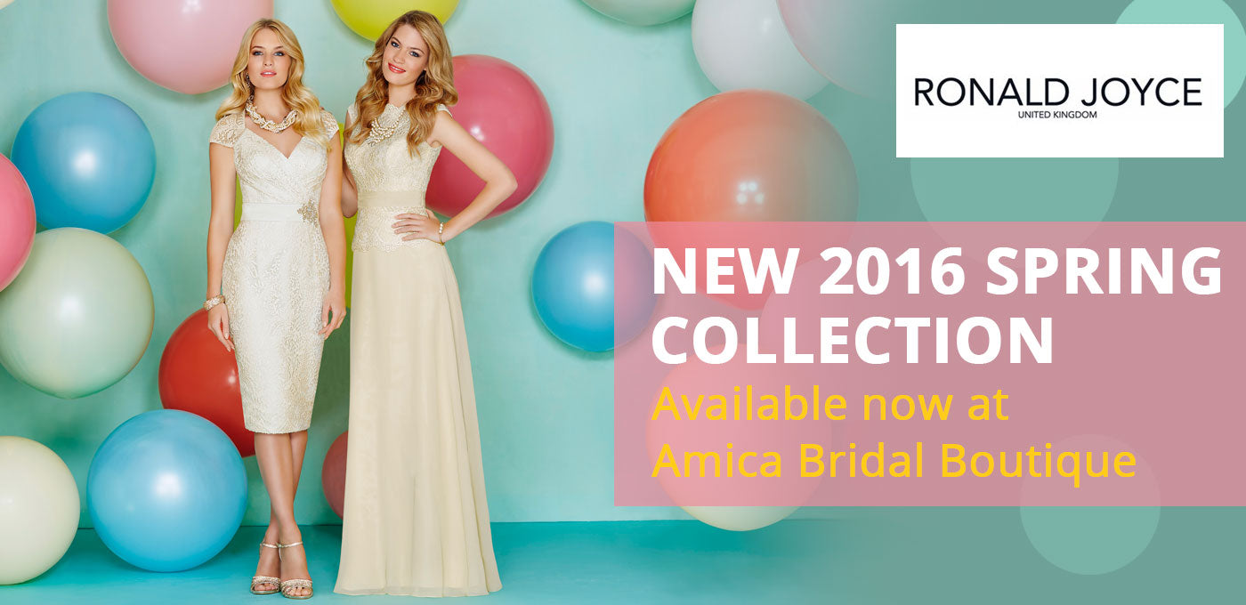 New Ronald Joyce Spring Collection available