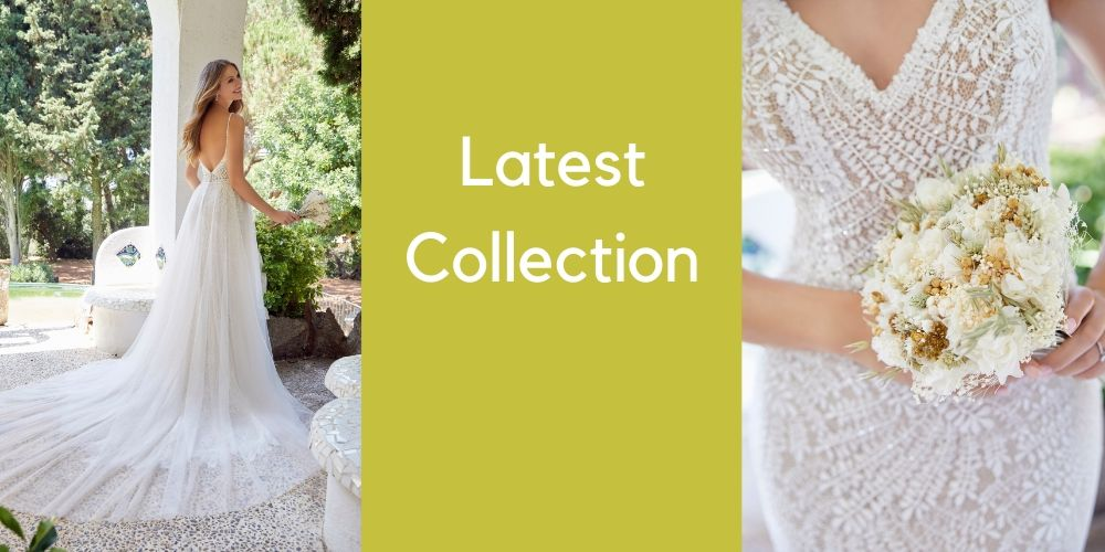 latest collection of wedding gowns