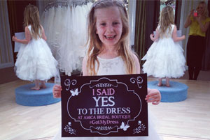 Say yes to the dress at Amica Bridal Boutique