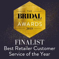 bridal buyer awards finalist amica bridal boutique