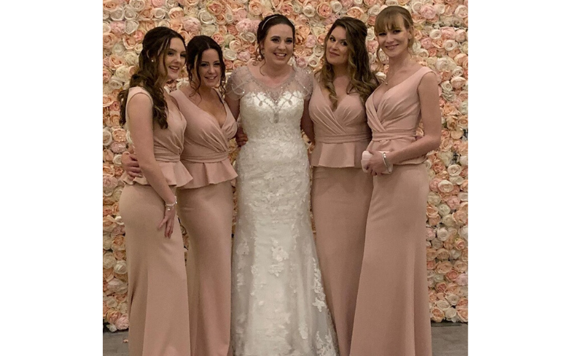 caroline wilson bridesmaid pic