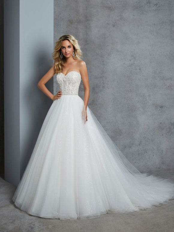 cherie a line wedding dress by ronald joyce